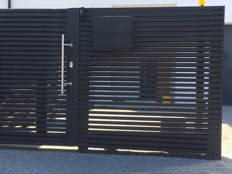 Płoty bramy ogrodzenia aluminiowe