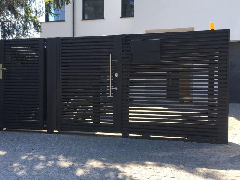 Producent profili aluminiowych do płotów bram ogrodzeń z aluminium